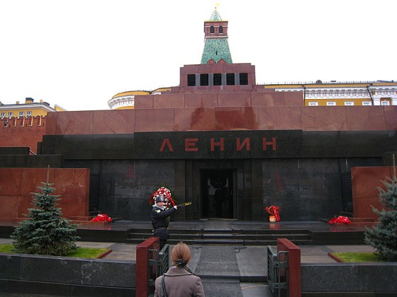 Lenin's tomb. We didn't go in to see the body this time, but next weekend I hope to go in and see his pink face. (Apparently he has a pink hue to him)