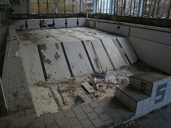 The swimming pool, apparently a must see on these tours. I wasn't that interested for some reason.
