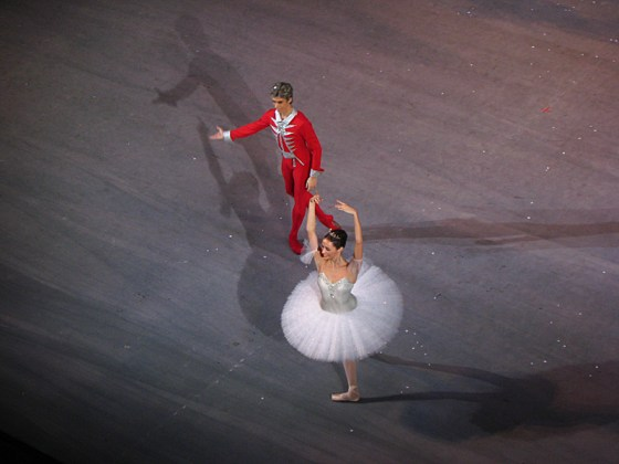 The Nutcracker Prince and Marie.