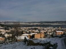 Le Beausset sous la neige 21 janv 2011