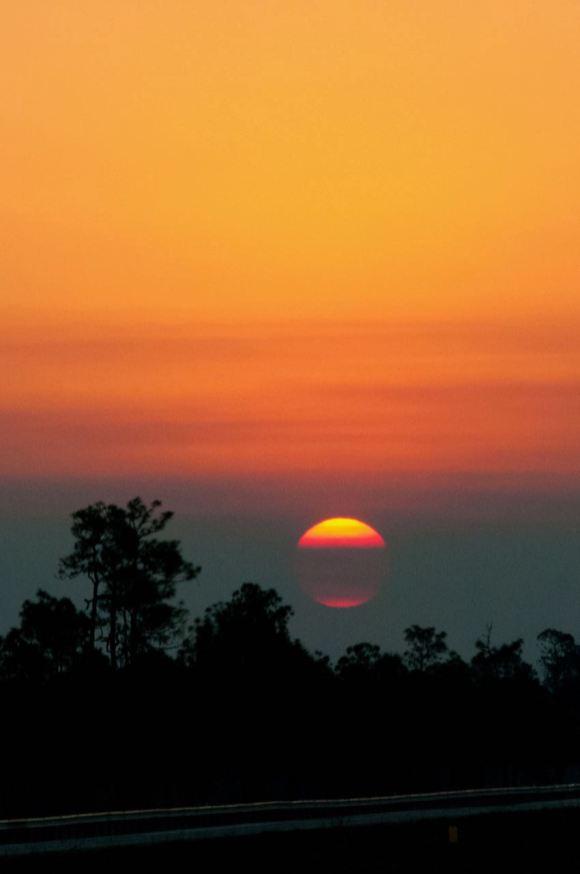 Закат во Флориде