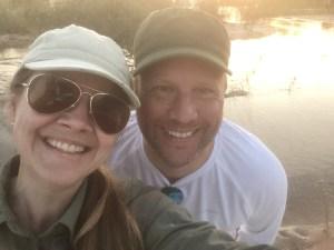 Sabrina und Jörn Rahtgens in Afrika