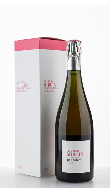 Mirgin Rose Reserva Brut Nature Retail 2018 –  Alta Alella