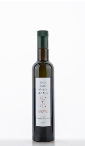 """Olio Extra Vergine di Oliva Monocultivar """"Frantoio"""" NV 500ml –  Corzano e Paterno"""