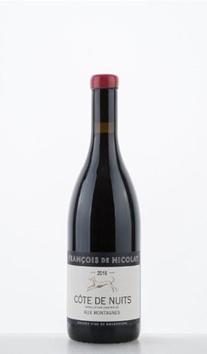 """Côte de Nuits Rouge """"Aux Montagnes"""" 2016"""