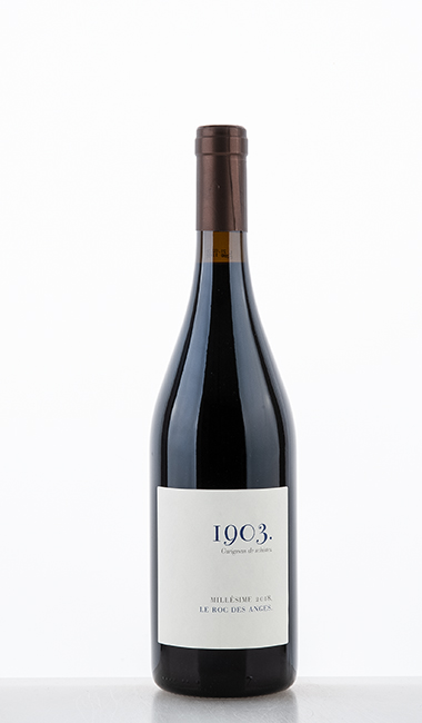 1903 Carignan Côtes Catalanes rouge IGP 2018 - Roc des Anges