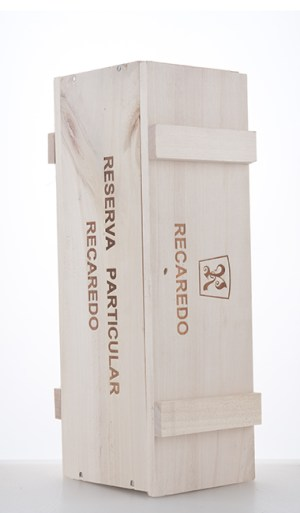 Wooden box for one bottle of Reserva Particular NV - Recaredo