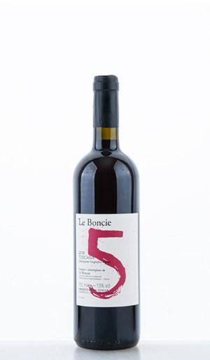 """Le Boncie """"5"""" Cinque Toscana IGT 2018 –  Le Boncie"""