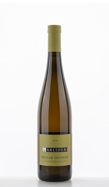 Müller-Thurgau Vineyard Dolomites IGT 2018 - Garlider