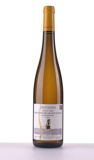 Pinot Gris Altenbourg Sélection de Grains Nobles 2003 –  Domaine Albert Mann