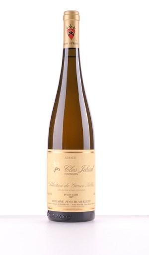 Pinot Gris Clos Jebsal Sélection de Grains Nobles 2007 –  Domaine Zind-Humbrecht