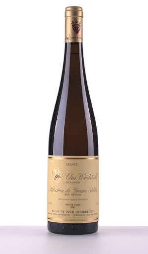 Pinot Gris Clos Windsbuhl Trie Speciale Sélection de Grains Nobles 2005 - Domaine Zind-Humbrecht