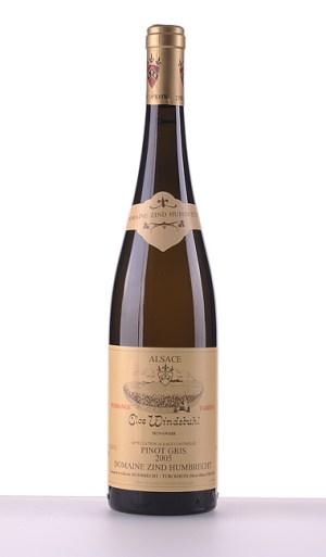 Pinot Gris Clos Windsbuhl Vendanges Tardives 2005 - Domaine Zind-Humbrecht