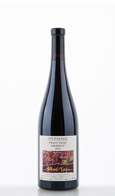 Pinot Noir Grand P (from Grand Cru Pfersigberg) 2018 - Domaine Albert Mann