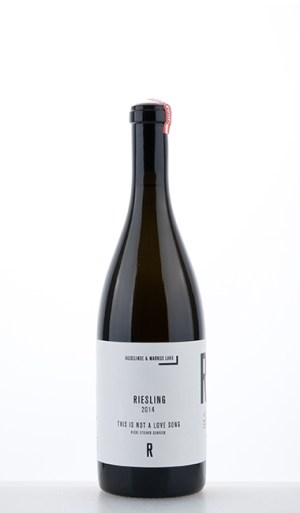 """Riesling Riede Steiner Schreck """"This is not a love song"""" 2014 –  HM Lang"""