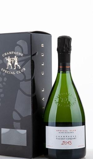 Spécial Club Extra Brut Blanc de Blancs Chouilly Grand Cru 2013 –  Vazart-Coquart & Fils
