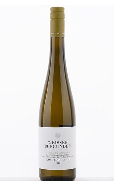 Loess et loam de Bourgogne blanche 2020 - Michael Andres