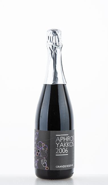 Yakkos Sparkling Grande Reserva Espumante Tinto 2006 –  Aphros Wine