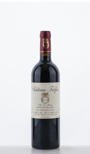 le Chevalier Côtes de Bourg 2012 –  Château Falfas