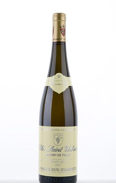 Pinot Gris Rangen de Thann Clos-Saint-Urbain Grand Cru 2001
