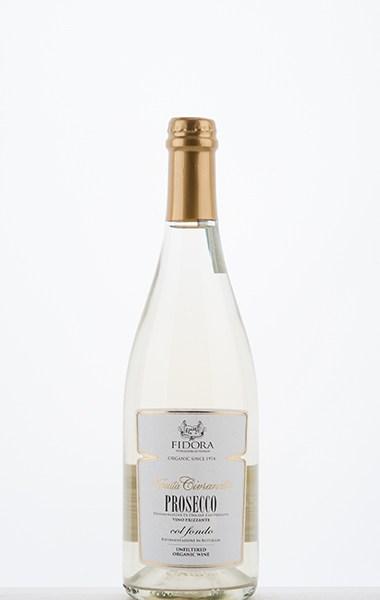 """Civranetta Prosecco DOC Frizzante """"col fondo"""" fermentation en bouteille non filtrée NV"""