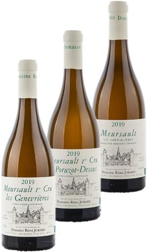 Forfait dégustation Rémi Jobard 1er Cru Meursault 2019 - Forfait dégustation