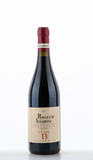 Ravazzol Amarone della Valpolicella Classico DOCG 2015 –  Cà la Bionda