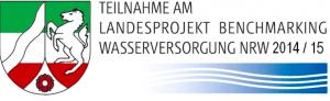 Teilnahmezertifikat für das Landesprojekt Benchmarking Trinkwasser NRW