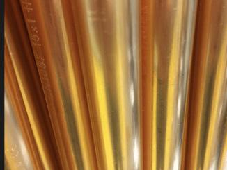 Natürlich können Kupferleitungen nicht lange wie neu aussehen.