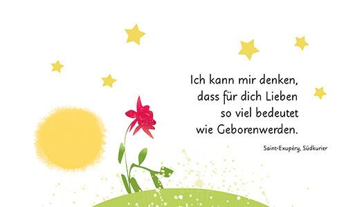 Blume Sonne Sterne