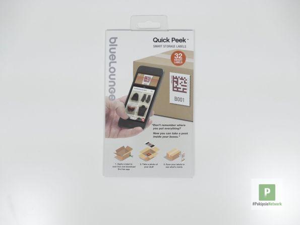 Das Paket mit den B-Etiketten