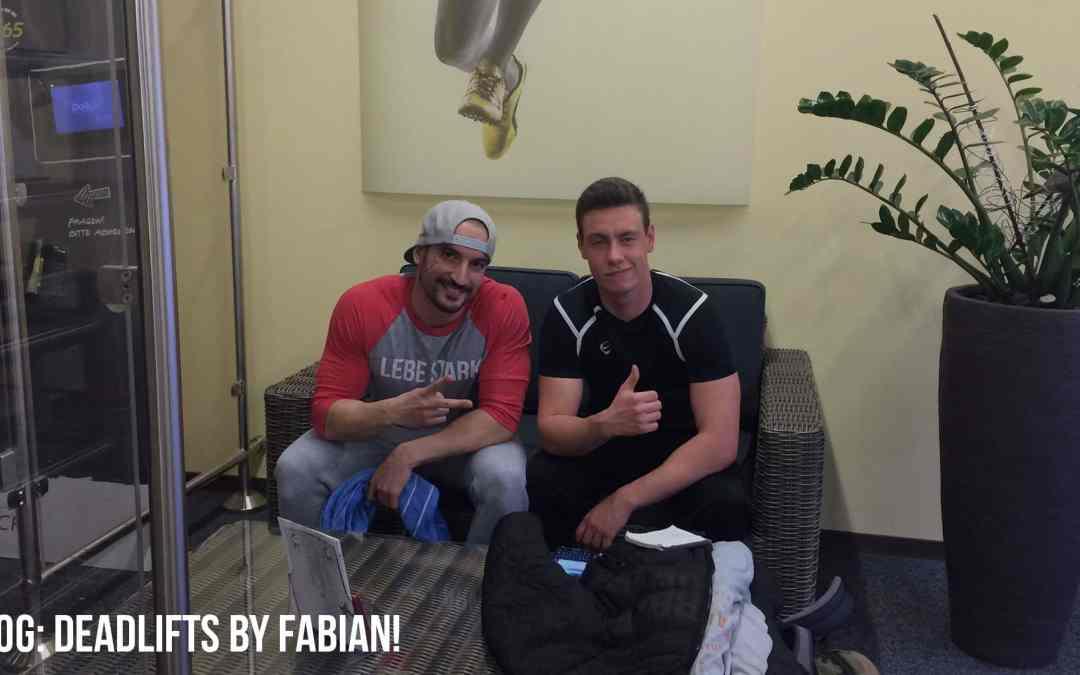 Deadlifts by Fabian! (Video)