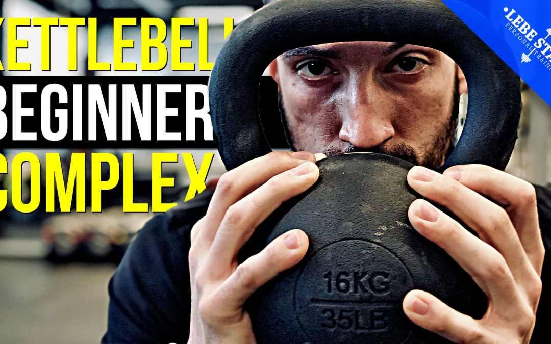 Kettlebell Workout mit 5 Übungen für ANFÄNGER – (DEADLIFT COMPLEX)