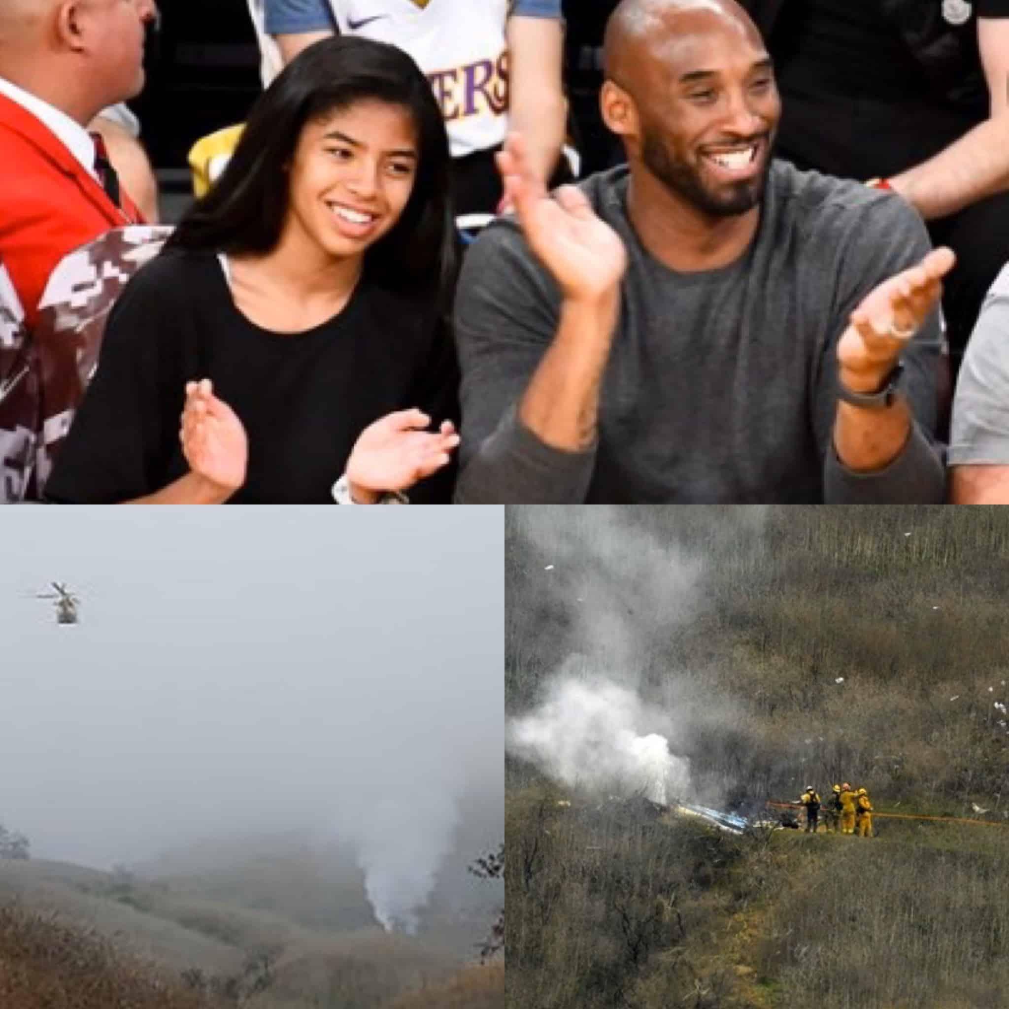 Kobe Bryant, seine Tochter und Fotos von der Unglücksstelle.
