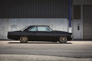 Demonstrating the evolution of high-performance and the latest in crate-engine technology, Chevrolet's turbocharged 1967 Nova 2.0 is a contemporary hot rod with timeless style.