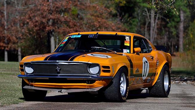 Mustang Boss 302 Kar Kraft Trans Am Racer 1970