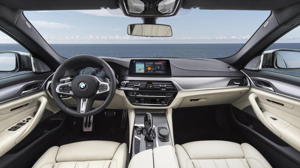 BMW M550i Habitacle