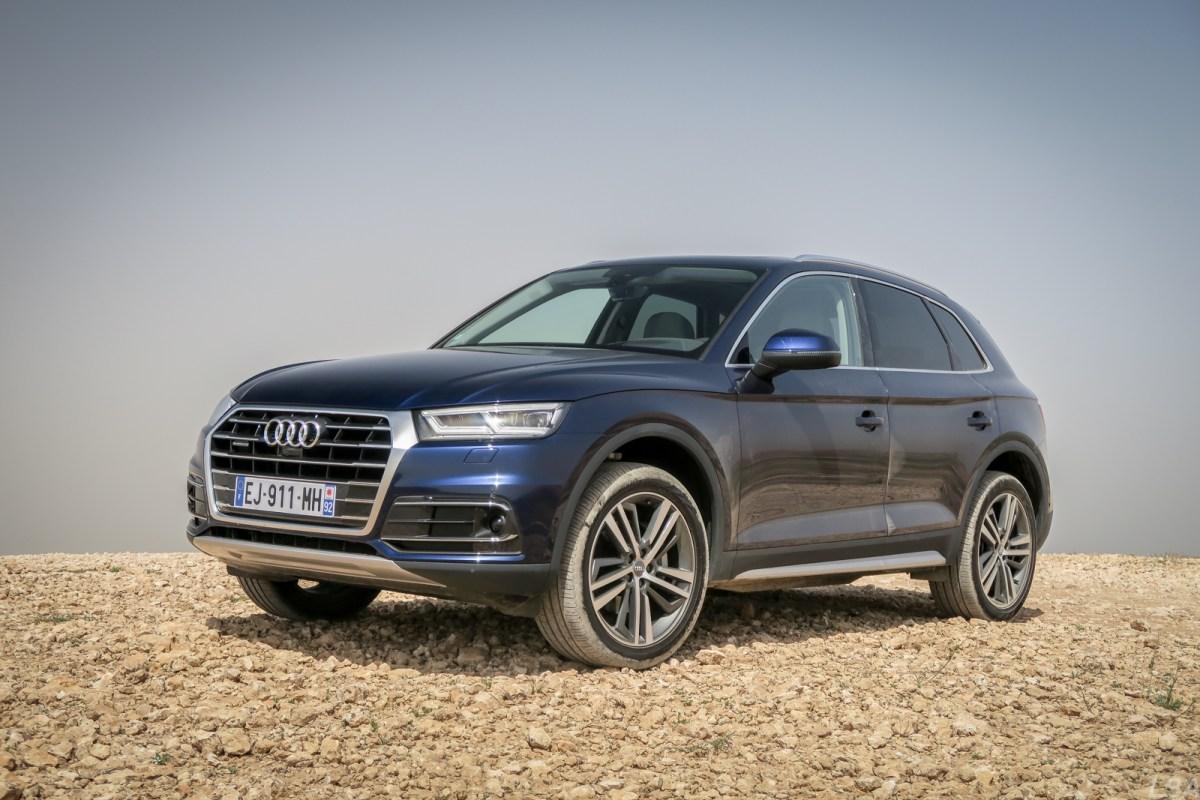 Audi Q5 3/4 front
