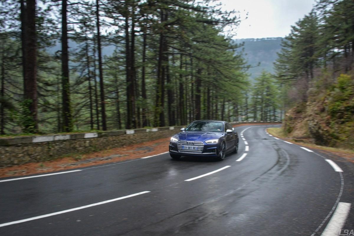 Audi S5 Sportback dynamic