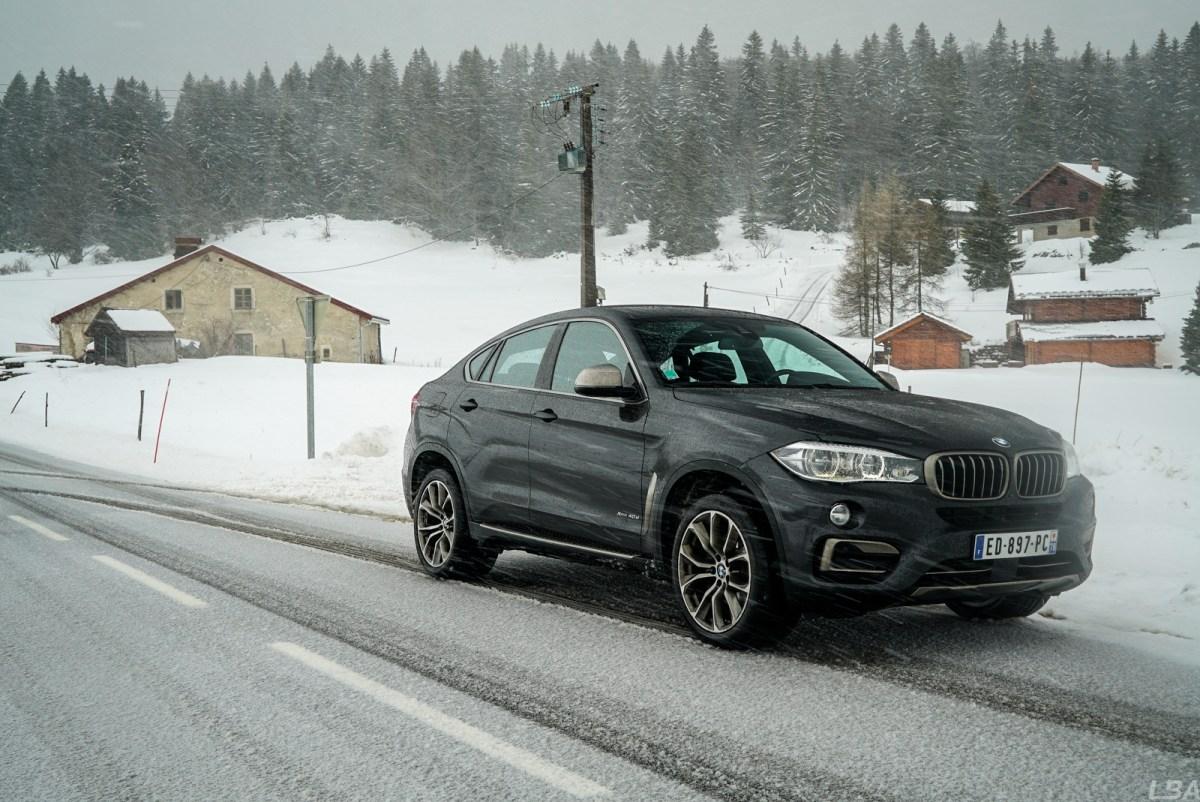 BMW X6 40d F16 Snow