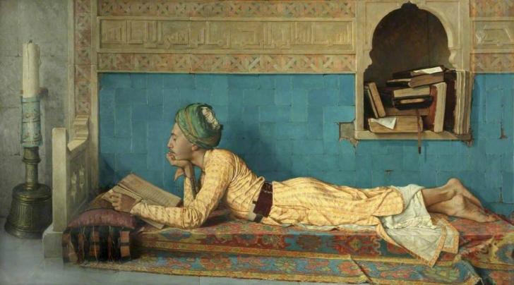 osman hamdi bey okuyan genç emir