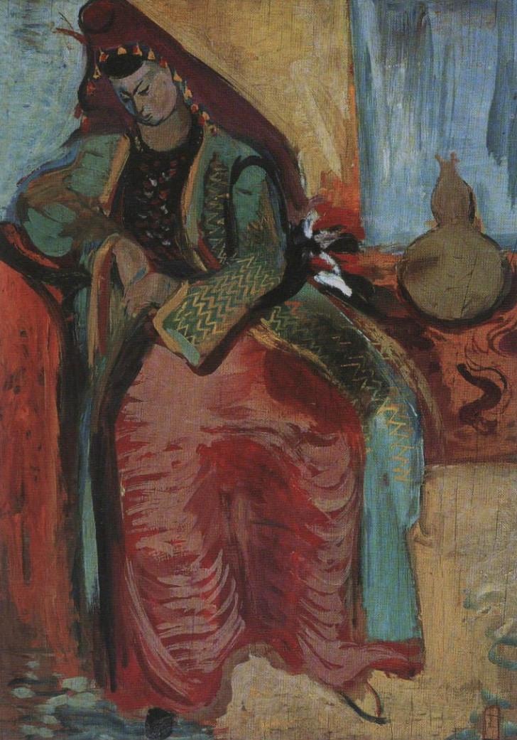 Eren Eyüboğlu (1913 – 1988) Bursalı Gelin ile ilgili görsel sonucu