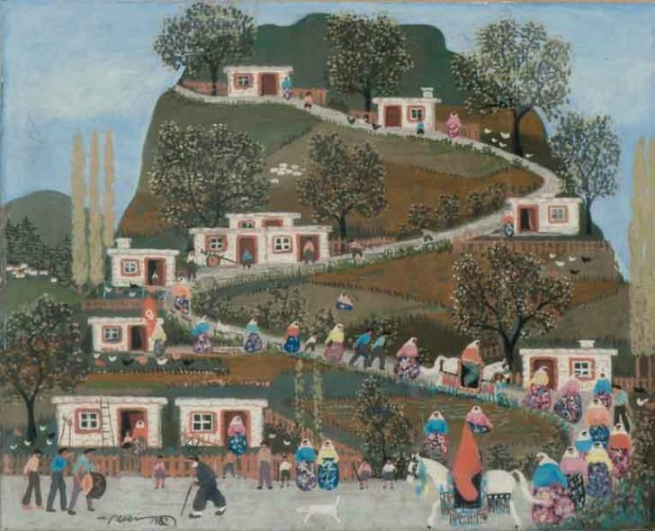 Mehmet Pesen (1923 – 2012)  köy düğünü ile ilgili görsel sonucu