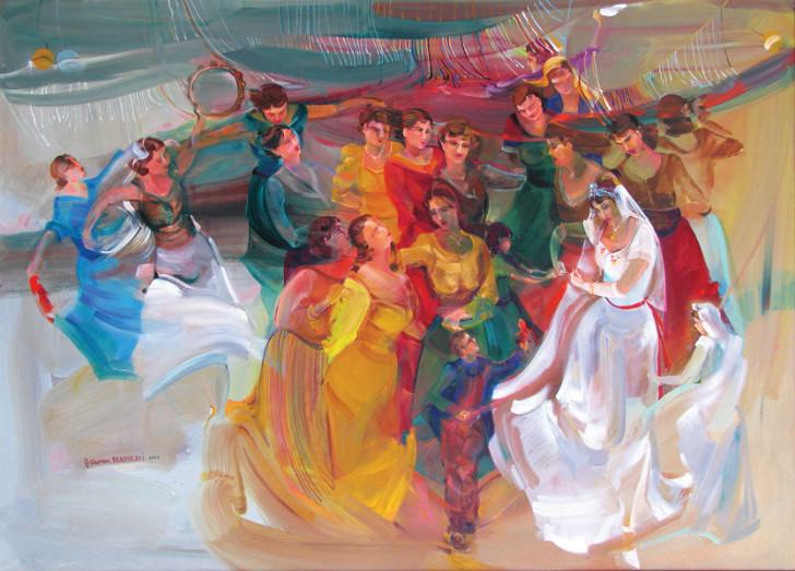 Şükran Pekmezci (1946 – ) Düğün, 2005 ile ilgili görsel sonucu