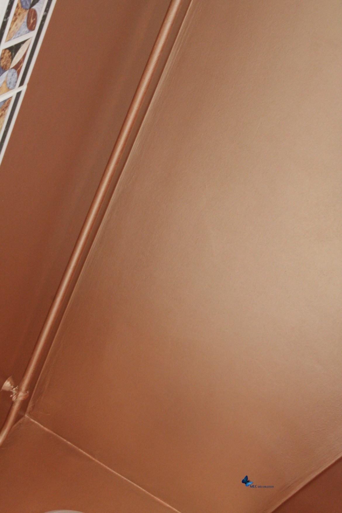 plafond cuivre MLC