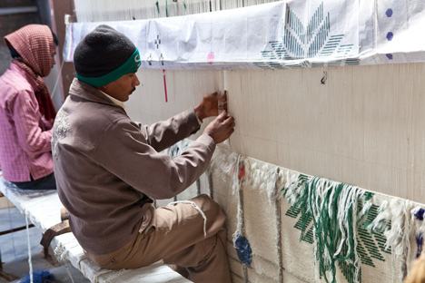 fabrication-tapis-Rabari-Collection