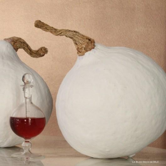 Halloween-deco-citrouilles-blanches-fiole-rouge