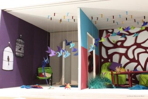 Peintures-et-couleurs-Mercadier-une jolie-palette-origami-oiseaux