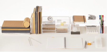 Etagères-porte-documents-organisateurs-design-tranparent-plexi-muji