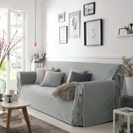 Canapés-houssés-de-lin-blanc- sélection-redoute-housse-appoint-grise